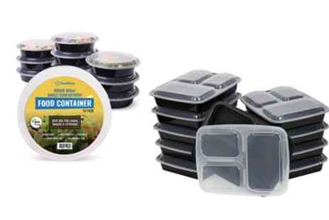 Groupon Goods Global GmbH - Reusable Plastic Food Containers - Save 0%