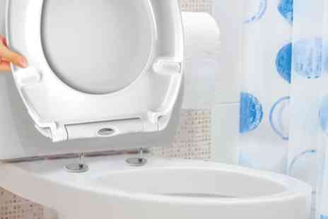Groupon Goods Global GmbH - One or Two White Soft Close Quick Release Toilet Seats - Save 53%