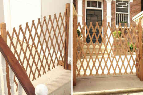 Personal Choice - Indoor expandable wooden fence - Save 60%