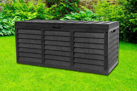 Eurotrade - 320L plastic garden storage box - Save 68%