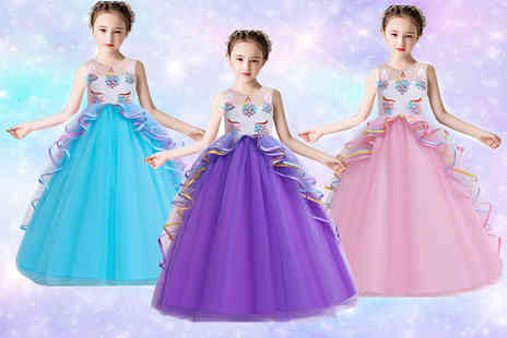 hey4beauty - Unicorn princess ball gown dress - Save 72%