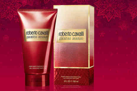 Wowcher Direct - Bottle of Roberto Cavalli Paradiso Assoluto shower gel or body lotion - Save 62%