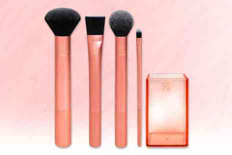 Wowcher Direct - Real Techniques flawless base makeup brush set - Save 30%