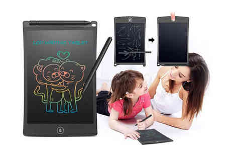Impress Gadgets - Lcd digital writing and drawing pad choose your colour - Save 0%
