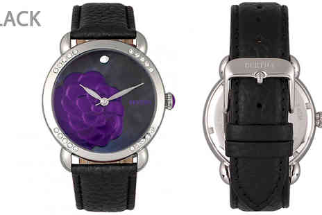 Ideal Deal - Bertha Daphne Blooming Flower Watch Choose from 4 Colours - Save 89%