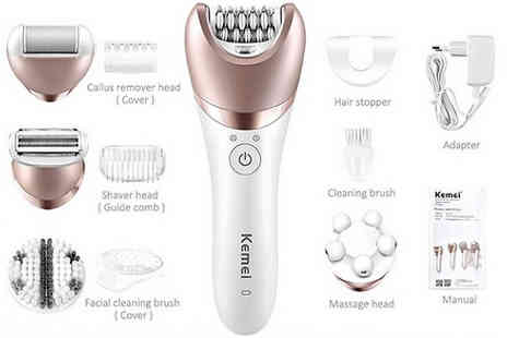 hey4beauty - Womens 5 in 1 Electric Hair Shaver - Save 67%