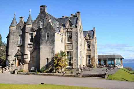 Stonefield Castle Hotel - Two nights Scottish castle stay near Loch Fyne with meals - Save 41%
