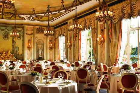 The Ritz Restaurant - Three course meal and champagne for Two - Save 0%