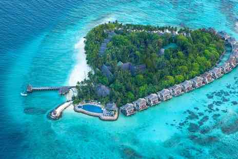 Away Holidays - Maldives luxury beach holiday with seaplane transfers and massage - Save 0%