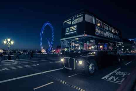 The Ghost Bus Tours - Edinburgh, York or London Bus Tour with Guidebook for Up to Four - Save 35%