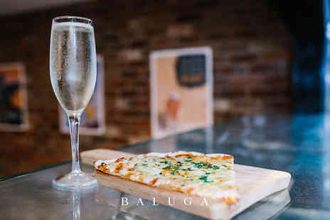 Baluga Bar & Club - Pizza for two people and a glass of Prosecco each - Save 64%