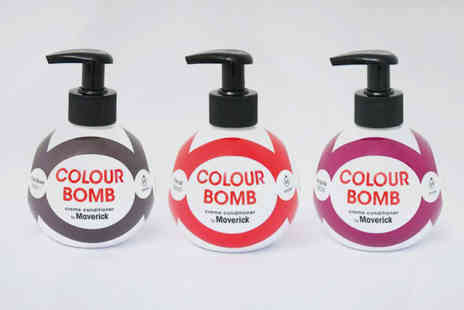 Maverick - Colour bomb creme conditioner choose from seven shades - Save 0%