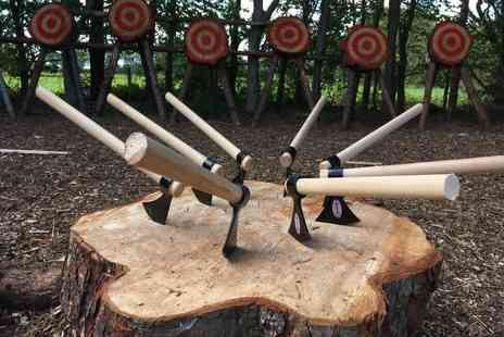 Yorkshire Activity Centre - One hour axe and spade throwing experience for one person - Save 58%