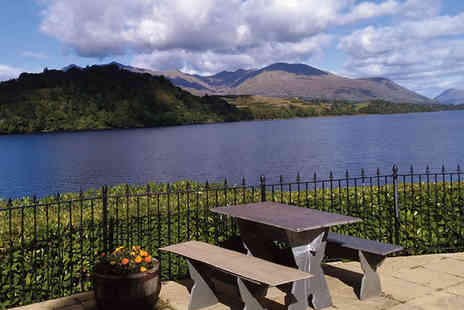 The Portsonachan Hotel - Two nights self catering stay for two in a Loch side duplex apartment - Save 53%