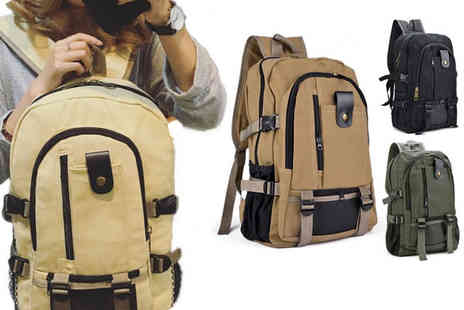 HONGKONG HUALIANDA - Mens shoulder backpack - Save 0%
