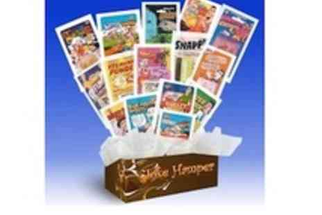 Gift Hampers By Post - Practical joke hamper  includes whoopee cushion - Save 52%