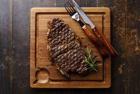Steak House St. Thomas - 7oz Rump Steak for Two or Four - Save 40%