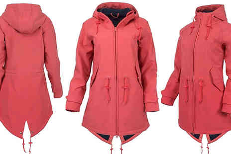 Wish Whoosh Offers - Waterproof Outdoor Jacket Choose from 4 Colours and 6 Sizes - Save 72%
