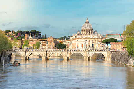Exclusive Luxury Breaks - Four Star Escape with a three, four or five nights getaway to Rome Now with the ability to choose your flight - Save 0%