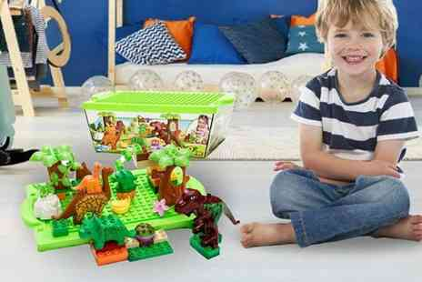 Spezzeee - Kids dinosaur building block toy - Save 46%