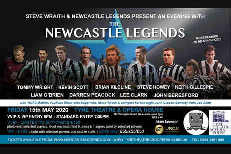 Newcastle Legends - Standard ticket to An Evening with Newcastle Legends on 15th May 2020 - Save 40%