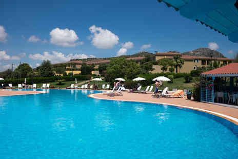 Bargain Late Holidays - Four Star Escape with a three, five or seven nights getaway to Sardinia Now with the ability to choose your flight - Save 0%