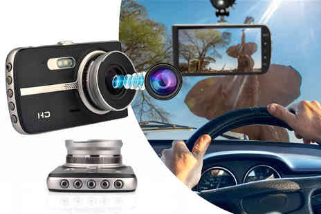 WowWhatWho - 1080p wide angle front and rear dash cam - Save 62%