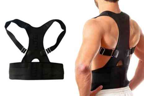Groupon Goods Global GmbH - One or Two Heated Magnetic Posture Correctors with Lumbar Support - Save 42%