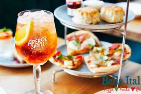 Bella Italia - Aperol Afternoon Tea for Two - Save 32%