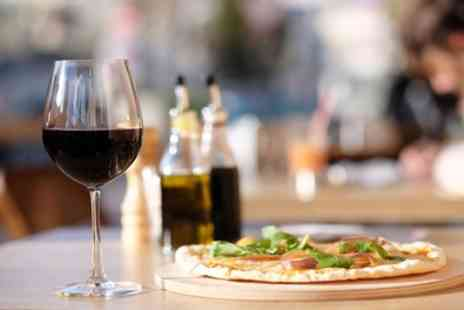 The Bell Inn - One or Two Pizzas and Wine to Share for Two or Four - Save 0%