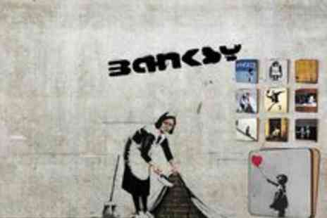 Canvas Town - 10 Banksy Art Print Coasters - Save 60%