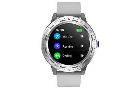 J Star Direct - Touch Control Health and Fitness Smartwatch With Heart Rate and Blood Pressure Monitor - Save 42%