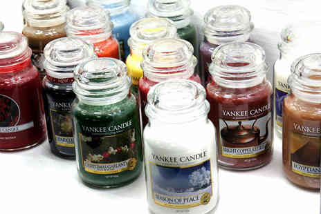 Yankee Bundles - Six assorted Yankee Candles classic large jars - Save 47%