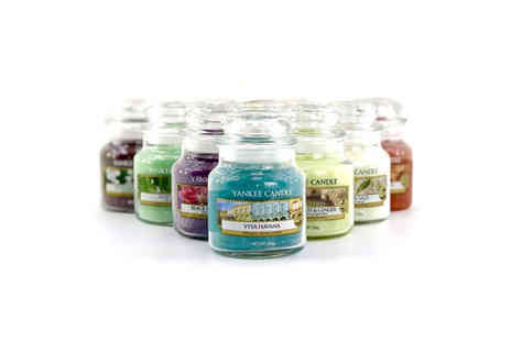 Yankee Bundles - Six assorted Yankee Candle classic small jars - Save 59%