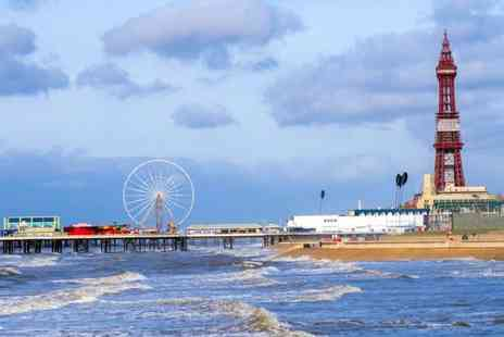 The New Osborne Hotel - Two nights Blackpool break for two with breakfast and a bottle of Prosecco - Save 58%
