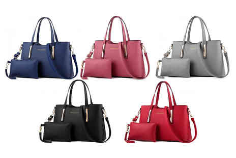 My Blufish - Two piece handbag choose your colour - Save 74%