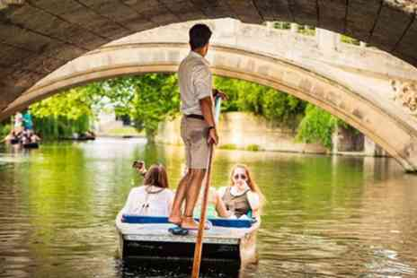 Rutherfords Punting Company - 50 Minute College Backs Shared Punting Tour for Up to Four - Save 45%