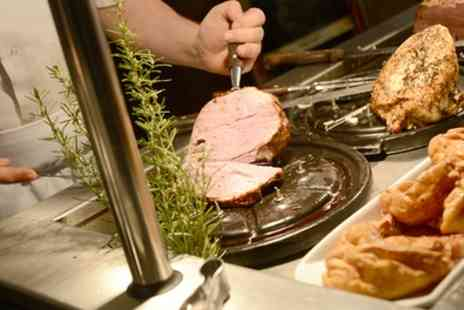 Vale Royal Abbey - Two Course Sunday Carvery with Wine for Two or Four - Save 45%