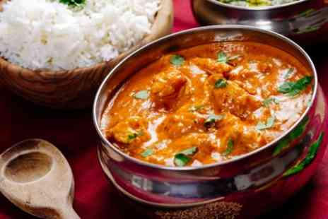 Apni Rosoi - Two Course Punjabi Meal with Naan or Rice and Drink for Two or Four - Save 46%