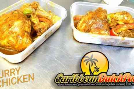 Caribbean DutchPot - Caribbean Meal for Two or Four - Save 44%