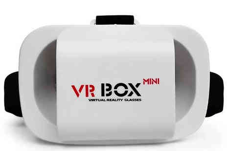 J Star Direct - Mini Virtual Reality 3D Headset Optional Remote Control - Save 73%