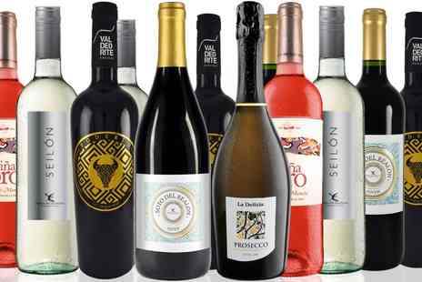 San Jamon - 11 Spanish wines, plus prosecco - Save 70%