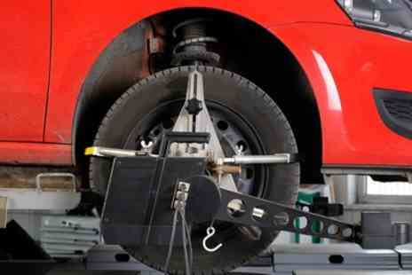 Venus Motors - Wheel Alignment and Tracking Check with Optional MOT - Save 58%