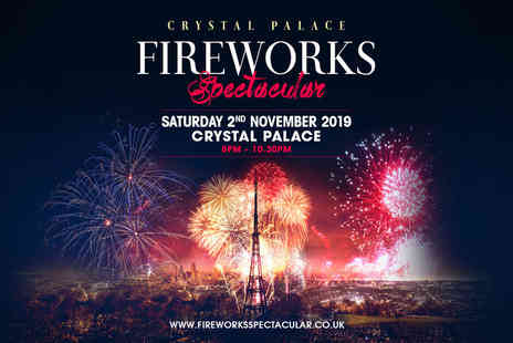 Fireworks Spectacular - Child ticket to Crystal Palace Fireworks Spectacular - Save 20%