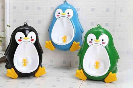 CN Direct Biz - Penguin potty training urinal for toddlers choose from three colours - Save 70%