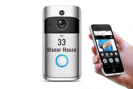 Magic Trend - Personalised WiFi smart doorbell - Save 78%